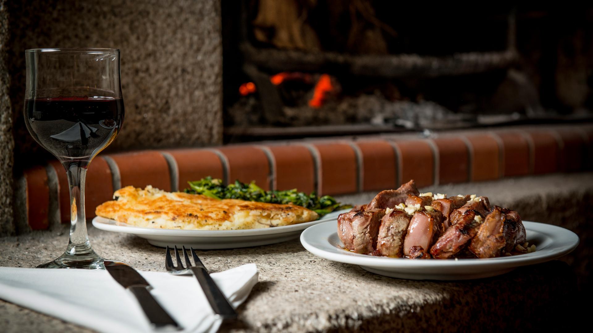 Imagem de prato típico: Uma posta barrosã