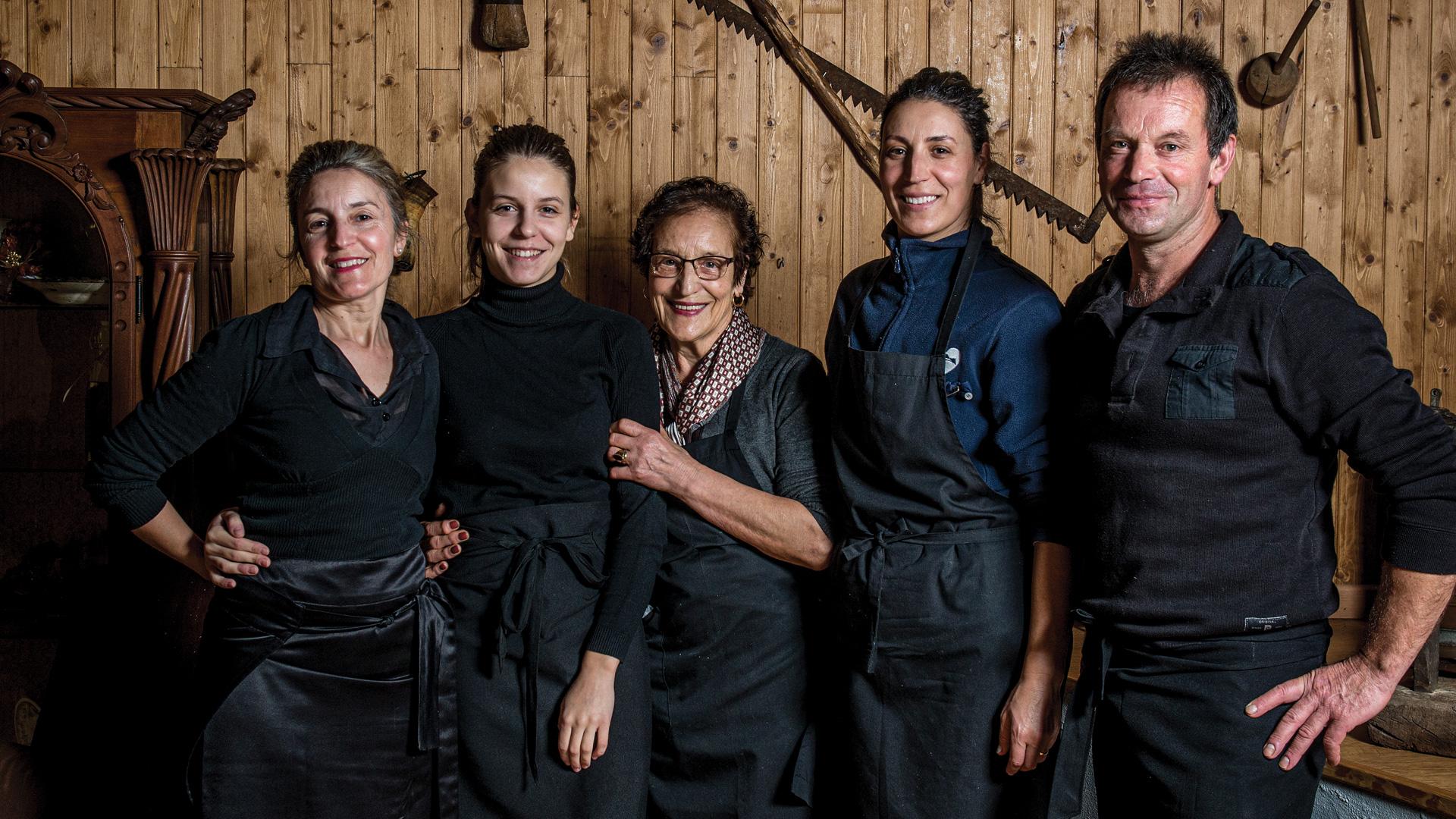 Retrato da equipa d'O Forno de Jales.
